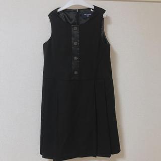 コムサデモード(COMME CA DU MODE)のコムサデモード ワンピース 黒 子供服 キッズ おしゃれ(ワンピース)