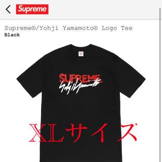シュプリーム(Supreme)の【XL】Supreme Yohji Yamamoto Logo Tee(Tシャツ/カットソー(半袖/袖なし))