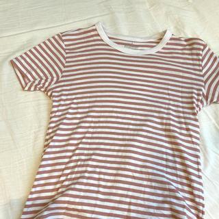 ムジルシリョウヒン(MUJI (無印良品))のボーダーTシャツ(Tシャツ/カットソー(半袖/袖なし))