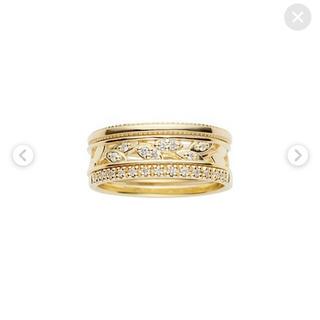 ヴァンドームアオヤマ(Vendome Aoyama)のヴァンドームアオヤマ ダイヤモンド 3連セット(リング(指輪))