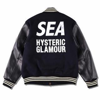 ヒステリックグラマー(HYSTERIC GLAMOUR)のwind and sea hysteric glamour キムタク スタジャン(スタジャン)