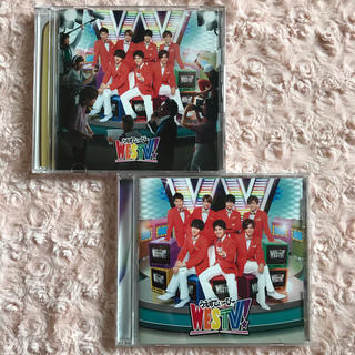 ジャニーズWEST - ジャニーズWEST♡WESTV!初回盤通常盤アルバムCDセット