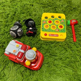 アンパンマン(アンパンマン)の美品 アンパンマン モグラ叩き 知育おもちゃ(知育玩具)
