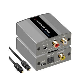 【新品未使用】デジタル アナログ DAC 音声 コンバーター 変換アダプター