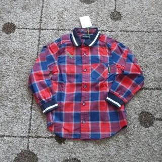 クレードスコープ(kladskap)の未使用タグ付き⭐クレードスコープ チェックシャツ 110(ブラウス)