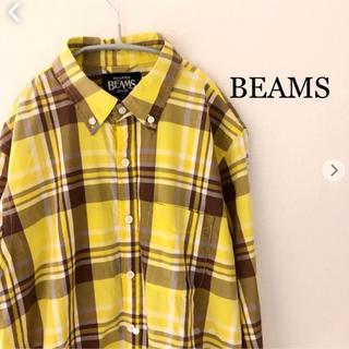 ビームス(BEAMS)のBEAMS チェックシャツ 長袖 Sサイズ ビームス  (シャツ)
