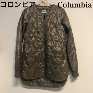 コロンビア(Columbia)のコロンビア 新品 薄手 ダウンジャケット ダウンコート ブランド カーキ 上着 (ダウンジャケット)
