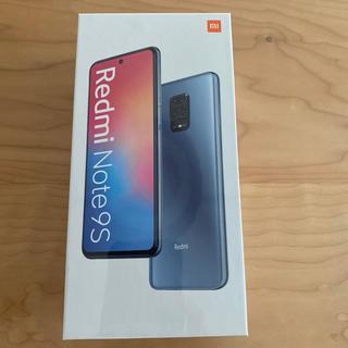 ANDROID - 未開封Ⅱ Xiaomi Redmi Note 9S 4G/64GB 国内版ブルー