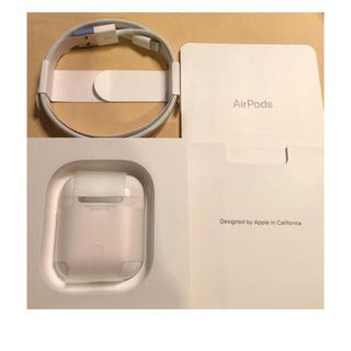 Apple - 超美品 Apple AirPods [MRXJ2J/A] 第2世代 使用一週間