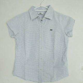 ラコステ(LACOSTE)のLACOSTE ギンガムチェックシャツ(シャツ/ブラウス(半袖/袖なし))