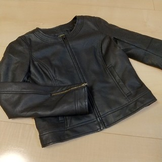 リエンダ(rienda)のrienda 黒 レザージャケット ライダースジャケット リエンダ(ライダースジャケット)