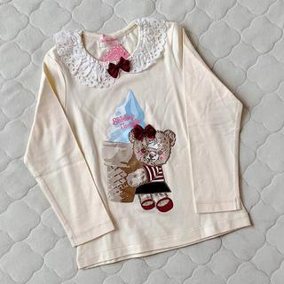 シャーリーテンプル(Shirley Temple)のシャーリーテンプル🎀カットソー 110(Tシャツ/カットソー)