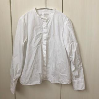 MUJI (無印良品) - 無印 バンドカラーシャツ