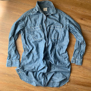 ビームス(BEAMS)のorslow シャンブレーシャツ チュニック(シャツ/ブラウス(長袖/七分))