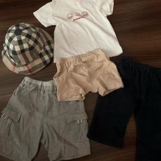 バーバリー(BURBERRY)のバーバリー Burberry 帽子 パンツ シャツ セット(パンツ)