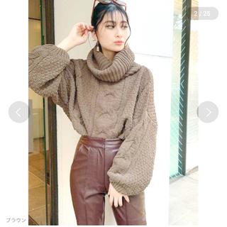 ジェイダ(GYDA)のGYDA ニット セーター 新品(ニット/セーター)