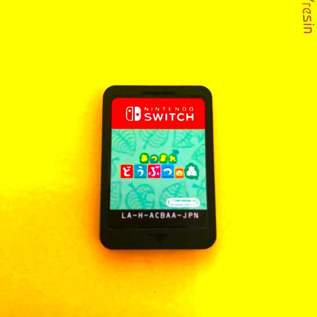 Nintendo Switch(ニンテンドースイッチ)のSHIO様専用☆あつまれどうぶつの森 SWICH エンタメ/ホビーのゲームソフト/ゲーム機本体(家庭用ゲームソフト)の商品写真