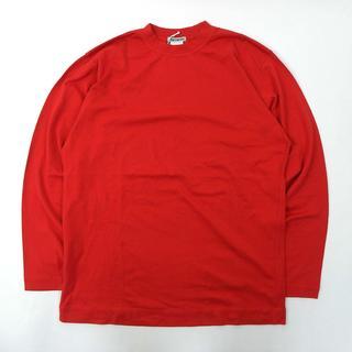イッセイミヤケ(ISSEY MIYAKE)のイッセイミヤケ Iコットン100% モックネックロングスリーブTシャツ(Tシャツ/カットソー(七分/長袖))