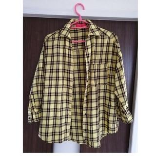 レピピアルマリオ(repipi armario)のレピピアルマリオ チェックシャツ(Tシャツ/カットソー)