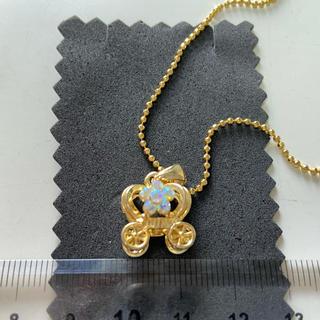 リズリサ(LIZ LISA)のLIZ LISA ゴールドネックレス馬車(ネックレス)