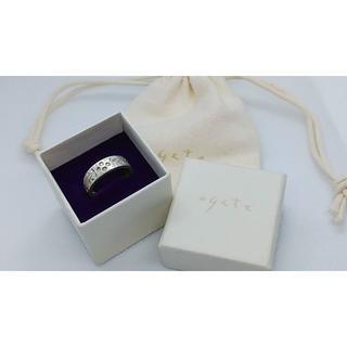 アガット(agete)のagete アガット シルバー×ダイヤモンド リング 指輪 4P/0.048(リング(指輪))