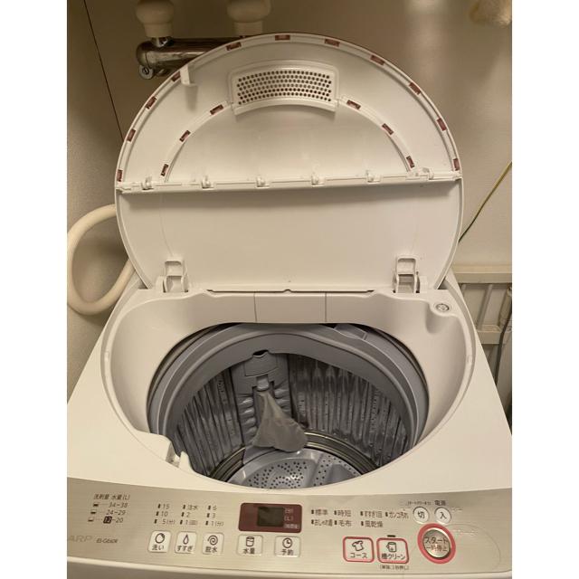 SHARP(シャープ)の送料込み!! シャープ全自動洗濯機 スマホ/家電/カメラの生活家電(洗濯機)の商品写真
