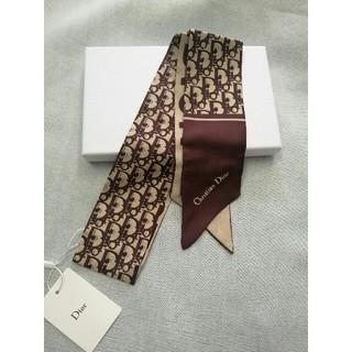 クリスチャンディオール(Christian Dior)の 未使用!美品(デイオールDior)スカーフ 箱付き(バンダナ/スカーフ)