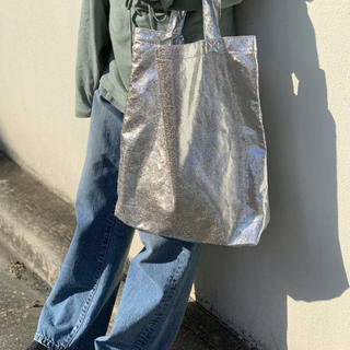 FREAK'S STORE - 【WEB限定販売】シャイニートートバッグ(メタリックバッグ)