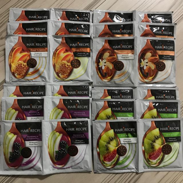 P&G(ピーアンドジー)のP&Gヘアレシピ 4種 12包セット コスメ/美容のキット/セット(サンプル/トライアルキット)の商品写真