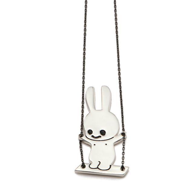 CUNE(キューン)の新品未使用 CUNE 立ち漕ぎウサギネックレス 2020 ウサギ 可愛い メンズのファッション小物(その他)の商品写真