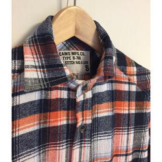 ビームス(BEAMS)のBEAMSビームス ネルチェックシャツS(シャツ)