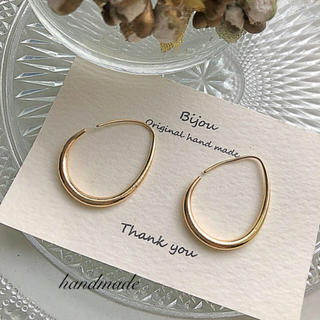 IENA - *再々入荷* gold loop pierce
