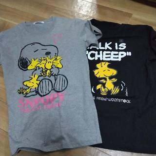 UNIQLO - スヌーピーTシャツ