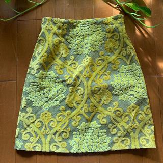 イワヤフォードレスサーティースリー(IWAYA FOR DRESS33)のDRESS33 ジャガードミニスカート(ミニスカート)