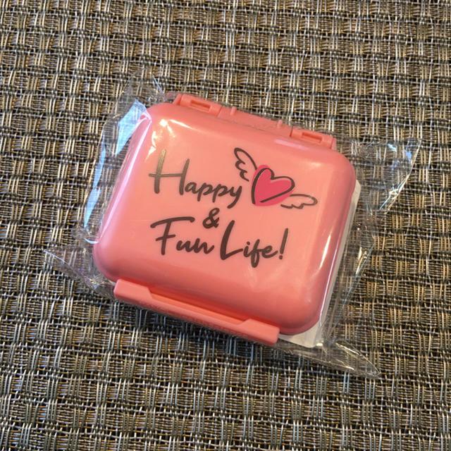 FANCL(ファンケル)のファンケル サプリメントケース FANCL サプリメント万能携帯ケース ピンク 食品/飲料/酒の健康食品(ビタミン)の商品写真