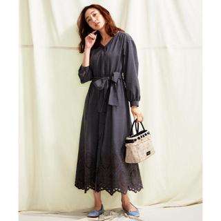 トッカ(TOCCA)のTOCCA LAVENDER Ethical Embroidered ドレス(ロングワンピース/マキシワンピース)