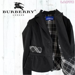 バーバリーブルーレーベル(BURBERRY BLUE LABEL)のBURBERRY BLUE LABEL ノバチェック裏地テーラードジャケット M(テーラードジャケット)