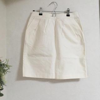 ケービーエフ(KBF)の【KBF】タック付き タイトスカート (ひざ丈スカート)