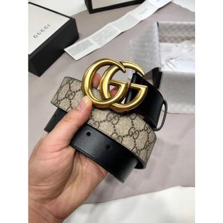 Gucci - ダブルG バックル GG ベルト(4センチ幅)