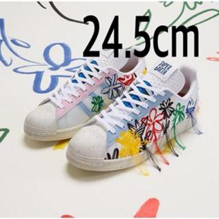 アディダス(adidas)の即日発送 ショーンウェザースプーン アディダス コラボ スニーカー 24.5cm(スニーカー)