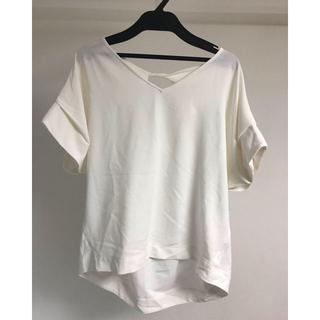 ジーナシス(JEANASIS)のJEANASIS カットソー(Tシャツ/カットソー(半袖/袖なし))