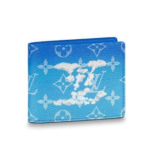 LOUIS VUITTON - ルイヴィトン ポルトフォイユ・スレンダー モノグラム・クラウズ 財布