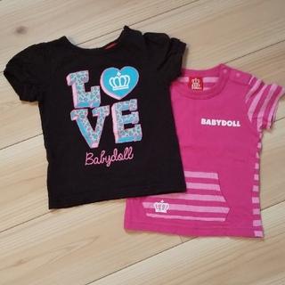 ベビードール(BABYDOLL)のBABYDOLL Tシャツ90(Tシャツ/カットソー)