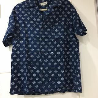 ビームス(BEAMS)の美品 半袖シャツ ビームス 藍染(シャツ)