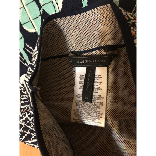 BCBGMAXAZRIA(ビーシービージーマックスアズリア)の★BCBG MAXAZRIA ★スカート(XS)鳥みたいなお洒落柄 レディースのスカート(ミニスカート)の商品写真