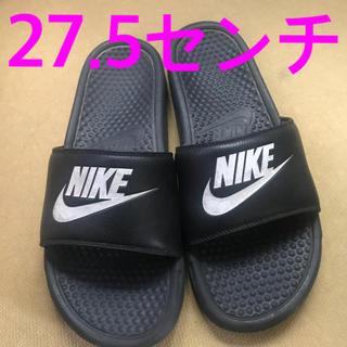 NIKE - ナイキ メンズ サンダル ブラック 27.5センチ