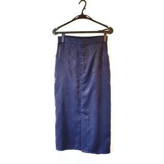 ガリャルダガランテ(GALLARDA GALANTE)のGALLARDA GALANTE ネイビー タイトスカート(ロングスカート)