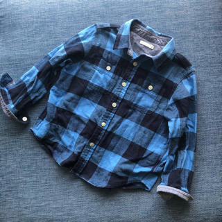 GU - GU ★☆★ チェックシャツ 110