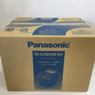 Panasonic - Wおどり炊きIHジャー炊飯器 SR-JW058-K同等商品!