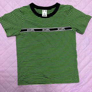 エックスガール(X-girl)のエックスガール半袖トップス(Tシャツ(半袖/袖なし))